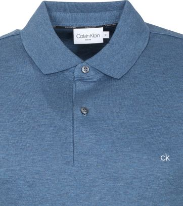 Calvin Klein Polo Shirt Slim Blue