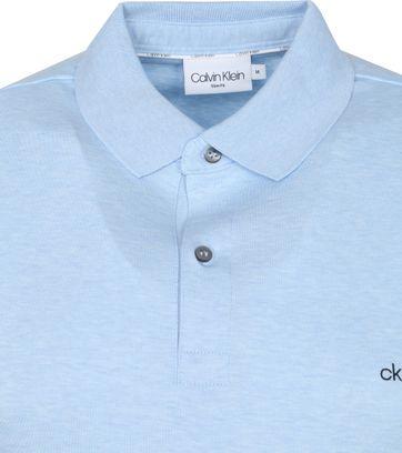Calvin Klein Polo Shirt Slim Light Blue