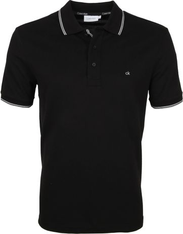 Calvin Klein Poloshirt Black