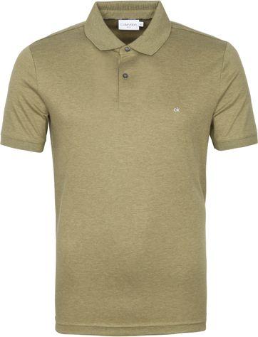 Calvin Klein Poloshirt Slim Dunkelgrün