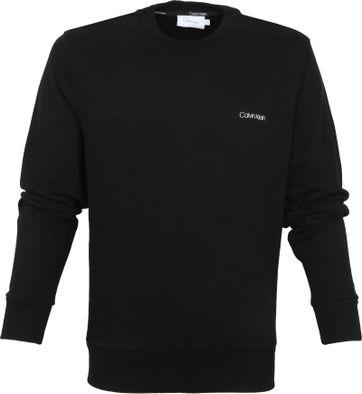 Calvin Klein Pullover Logo Schwarz