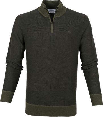 Calvin Klein Pullover Two Tone Olive Green