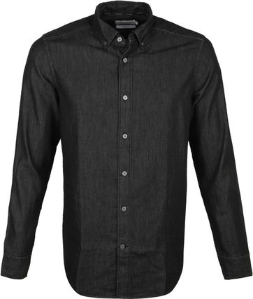 Calvin Klein Shirt Denim Black