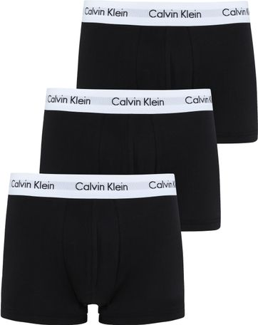 Calvin Klein Shorts Classic Fit Schwarz 3er-Pack