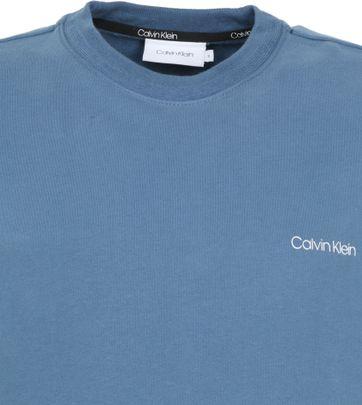 Calvin Klein Sweater Logo Blue