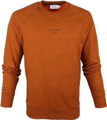Calvin Klein Sweater Oranje