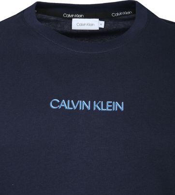 Calvin Klein T-Shirt Logo Bleu