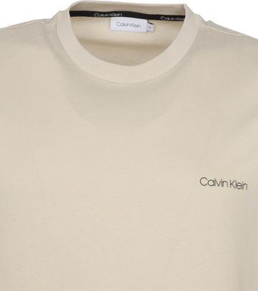 Calvin Klein T-Shirt Logo Light Grey