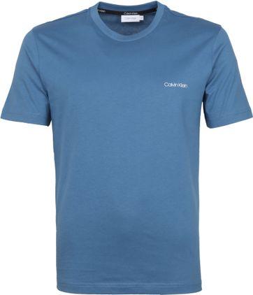 Calvin Klein T-Shirt Logo Stellar Blauw