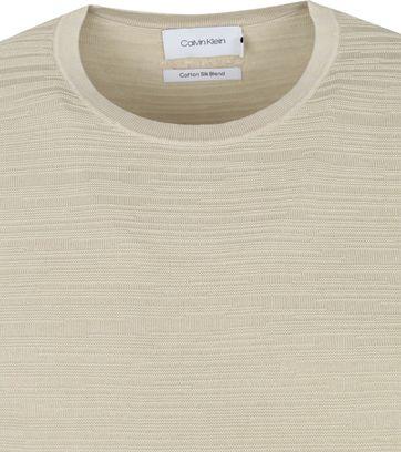 Calvin Klein Trui Textuur Beige