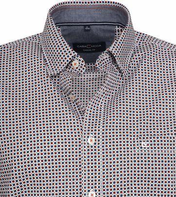 Casa Moda Casual Shirt Dots