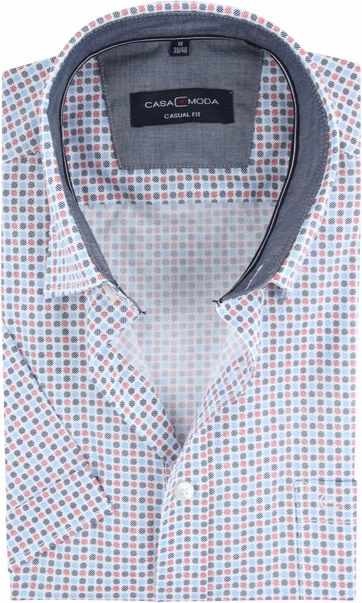 Casa Moda Casual Shirt Dots Red