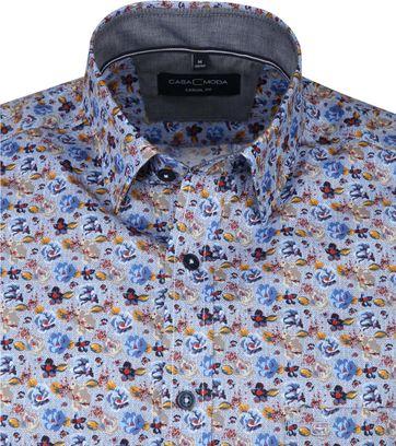 Casa Moda Casual Shirt Flowers Multi-colour