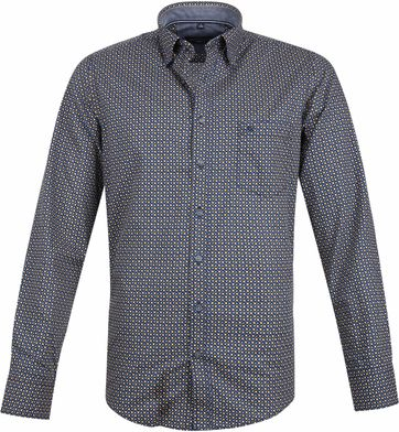Casa Moda Casual Shirt Navy Dots