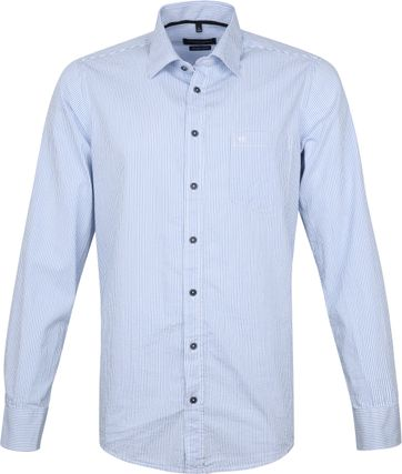Casa Moda Casual Shirt Stripes Blue