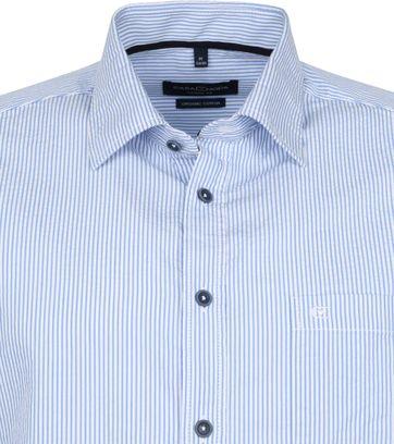 Casa Moda Casual Shirt Stripes Blue