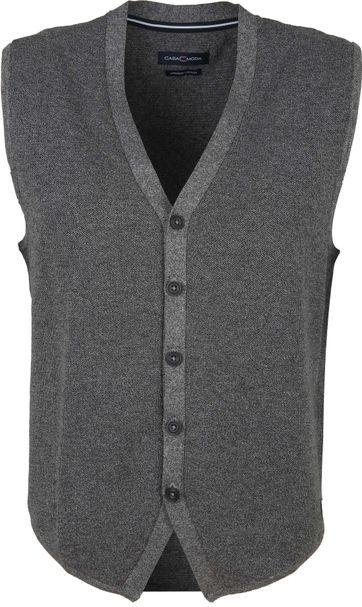 Casa Moda Casual Waistcoat Dark Grey