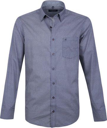 Casa Moda Hemd Blauw