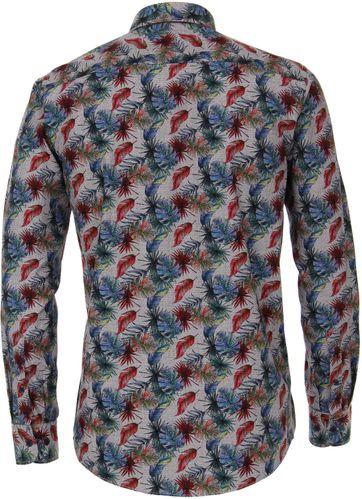 Casa Moda Overhemd Bladeren