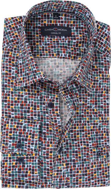 Casa Moda Overhemd Blokken
