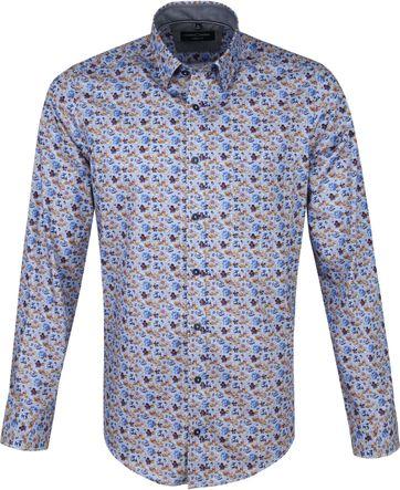 Casa Moda Overhemd Multi-colour Bloemen