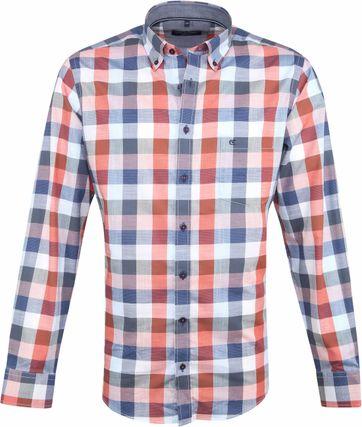 Casa Moda Overhemd Multi-colour Vierkanten