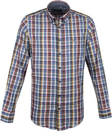 Casa Moda Overhemd Multi-colour Vlakken