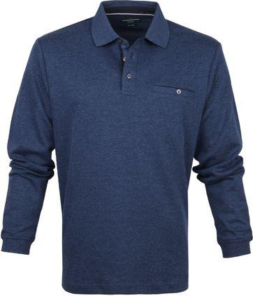 Casa Moda Polo LS Donkerblauw