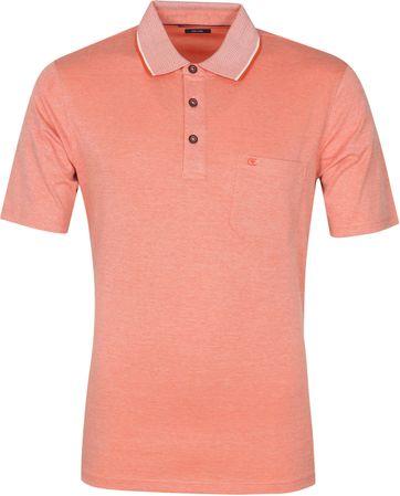 Casa Moda Polo Oranje Melange