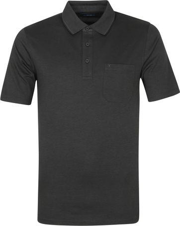 Casa Moda Polo Shirt Anthracite Melange