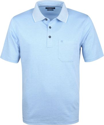 Casa Moda Polo Shirt Blue