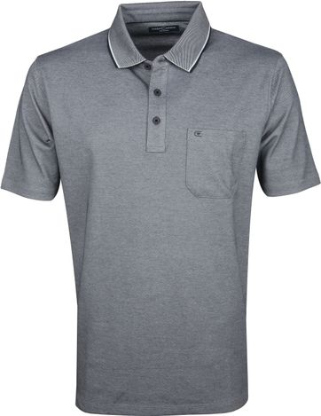 Casa Moda Polo Shirt Dark Grey