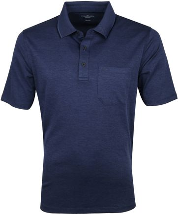 Casa Moda Polo Shirt Navy