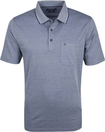 Casa Moda Polo Shirt Navy Design
