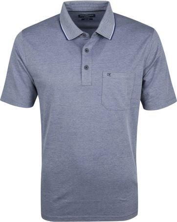 Casa Moda Polo Shirt Navy Design