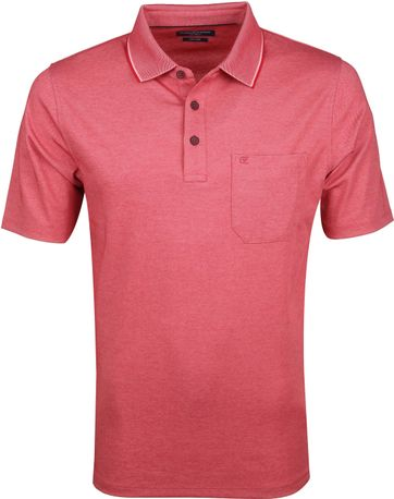 Casa Moda Polo Shirt Red