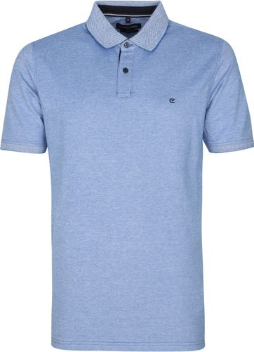 Casa Moda Polo Shirt Stretch Blue