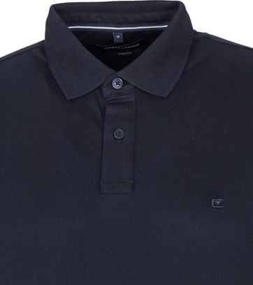 Casa Moda Polo Stretch Donkerblauw