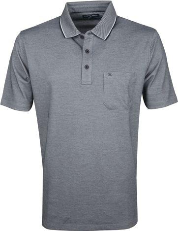 Casa Moda Poloshirt Dark Grey