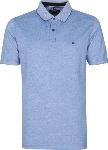 Casa Moda Poloshirt Stretch Blau