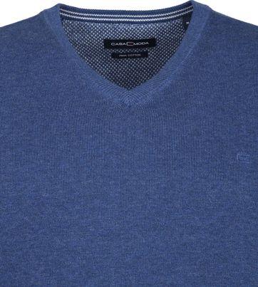 Casa Moda Pullover Mid Blue