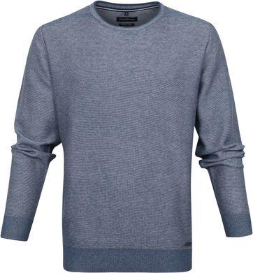 Casa Moda Pullover O-Halsausschnitt Blau