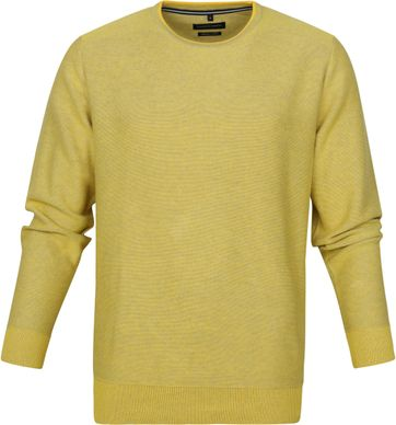 Casa Moda Pullover O-Neck Yellow