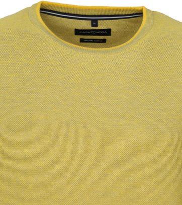 Casa Moda Pullover O-Neck Yellow