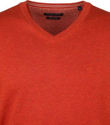Casa Moda Pullover V-Hals Oranje
