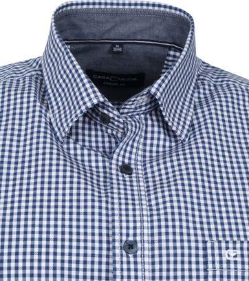 Casa Moda Shirt Pane Blue