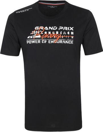 Casa Moda T Shirt Grand Prix Black
