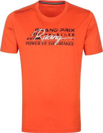 Casa Moda T Shirt Grand Prix Orange