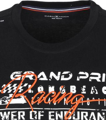 Casa Moda T-Shirt Grand Prix Zwart