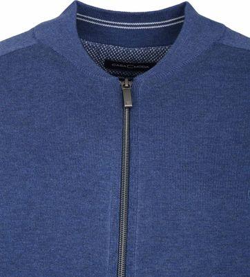 Casa Moda Vest Zip Blauw